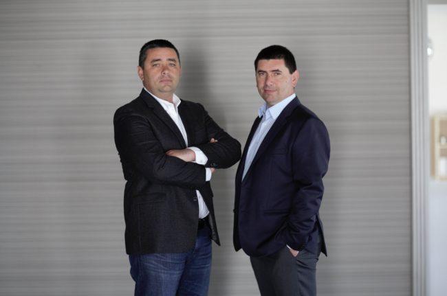 Vasile și Emil Goța, managerii companiei Elis Pavaje