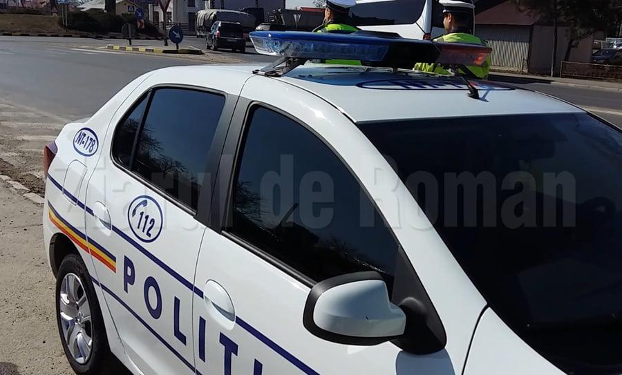 Șofer cu permisul suspendat, depistat de polițiști pe E 85 la Secuieni