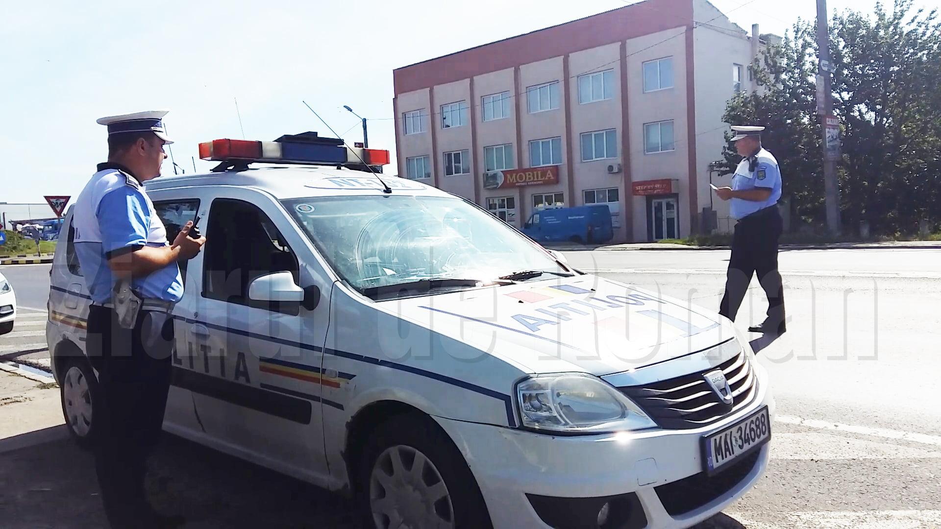 Peste 260 de vitezomani sancționați în weekend