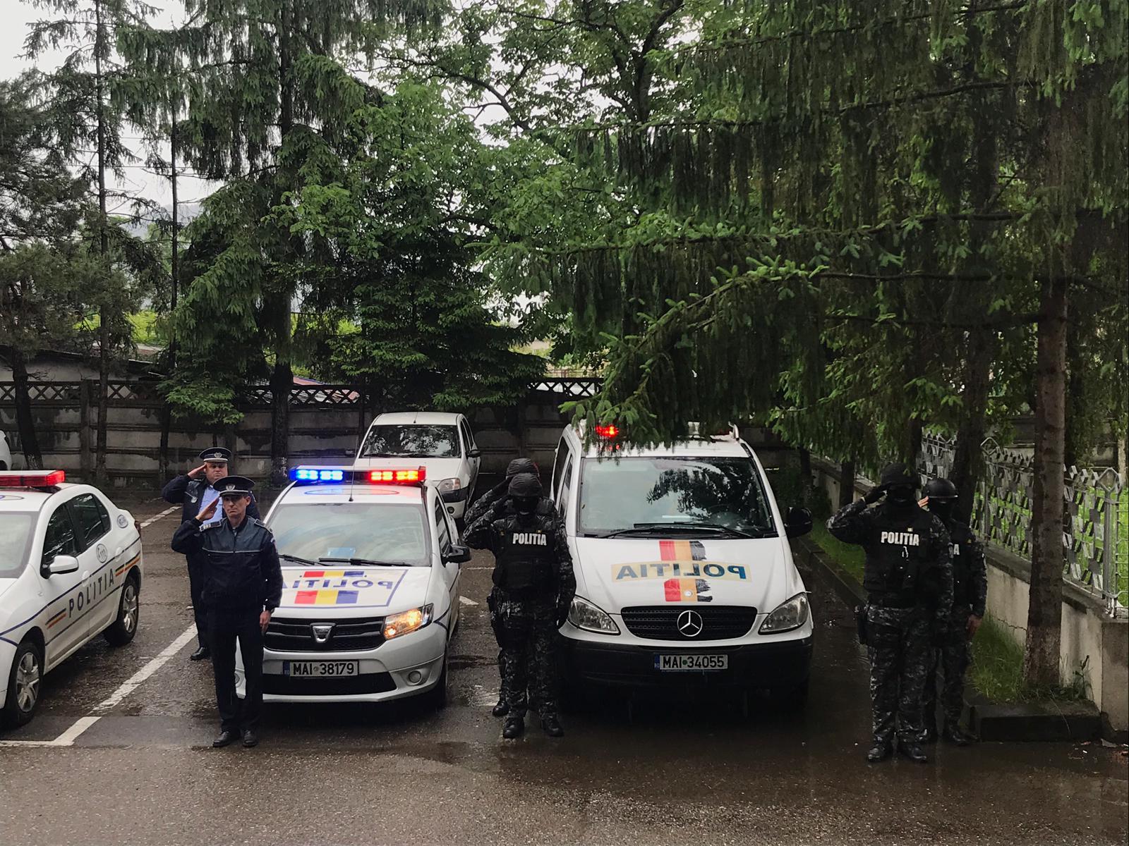 Moment de reculegere la IPJ Neamț, pentru polițistul căzut la datorie în Timiș
