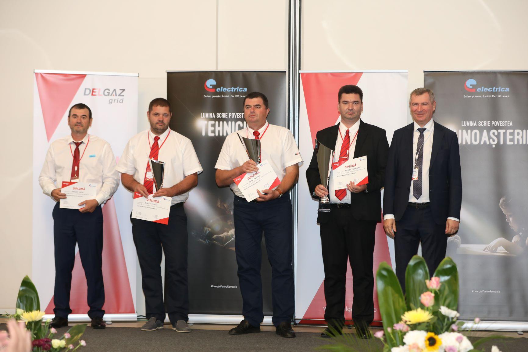 Delgaz Grid a câştigat Trofeul Electricianului 2019 la Secţiunea Mentenanţă