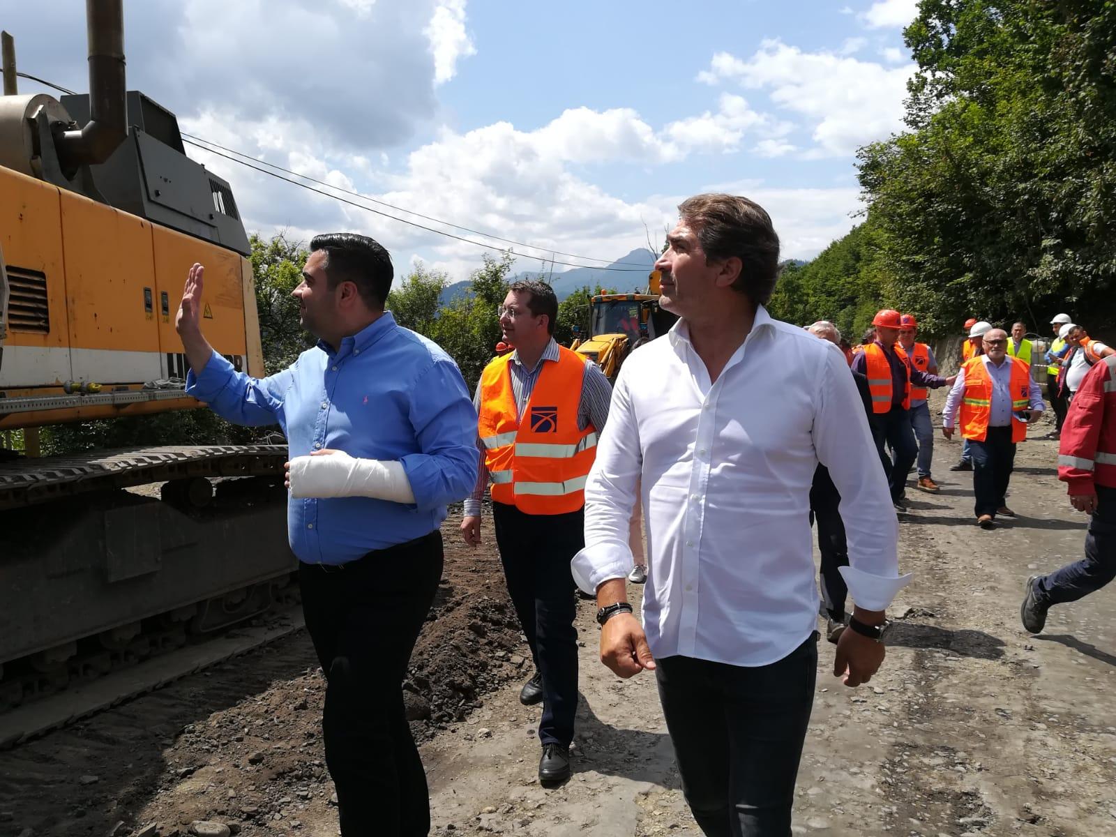 Ministrul Transporturilor, în vizită de lucru în județul Neamț
