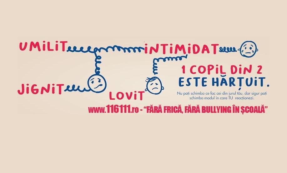 Petiție online pentru adoptarea de politici publice anti-bullying în școli