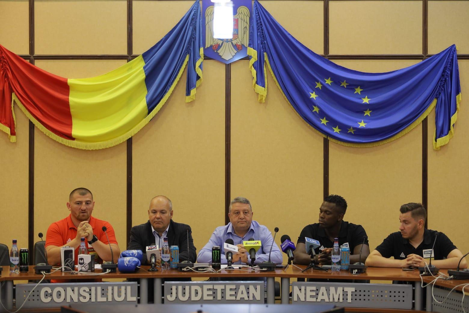 Consiliul Județean susține o nouă ediție a Galei Dynamite Fighting Show