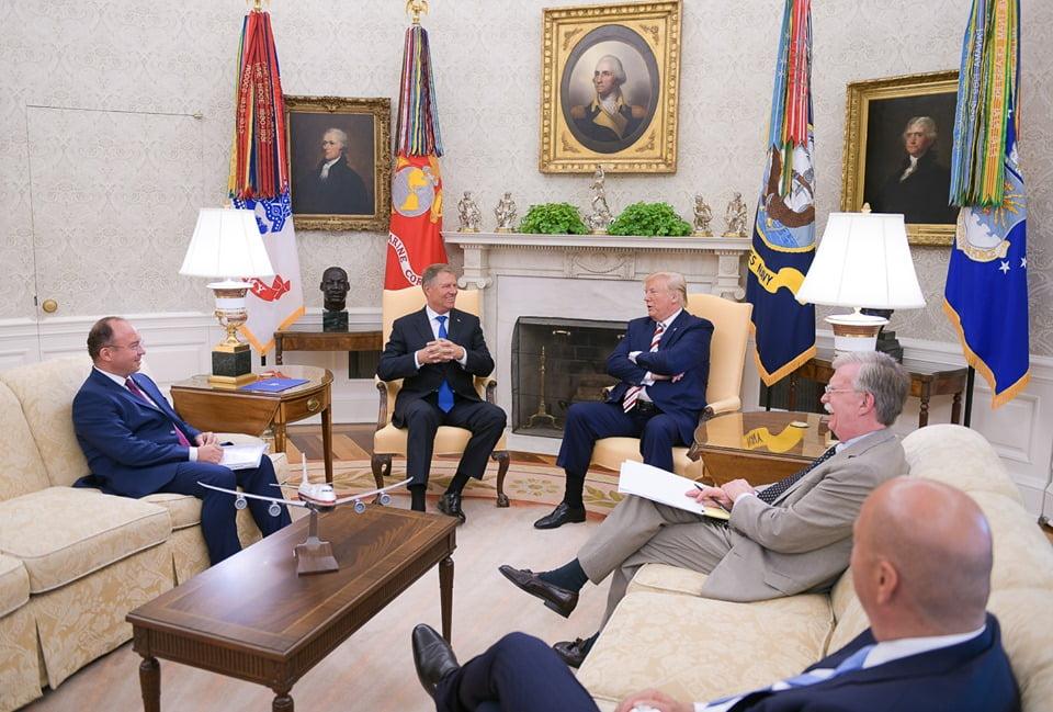 Vizita lui Klaus Iohannis în SUA