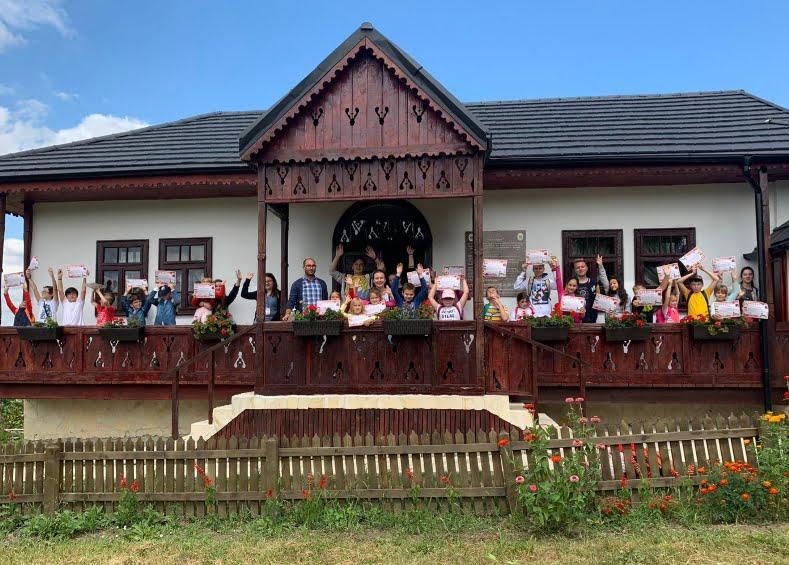 Școala de vară la Biserica Albă din Roman