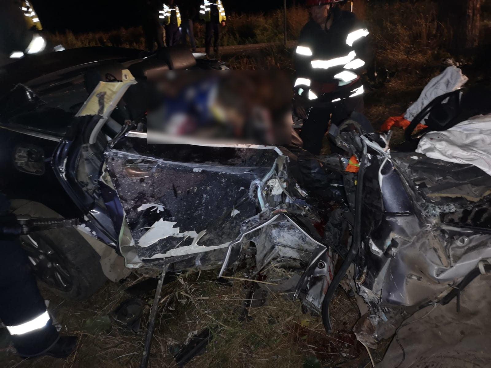 Accident rutier cu doi morți și trei răniți, în comuna Secuieni