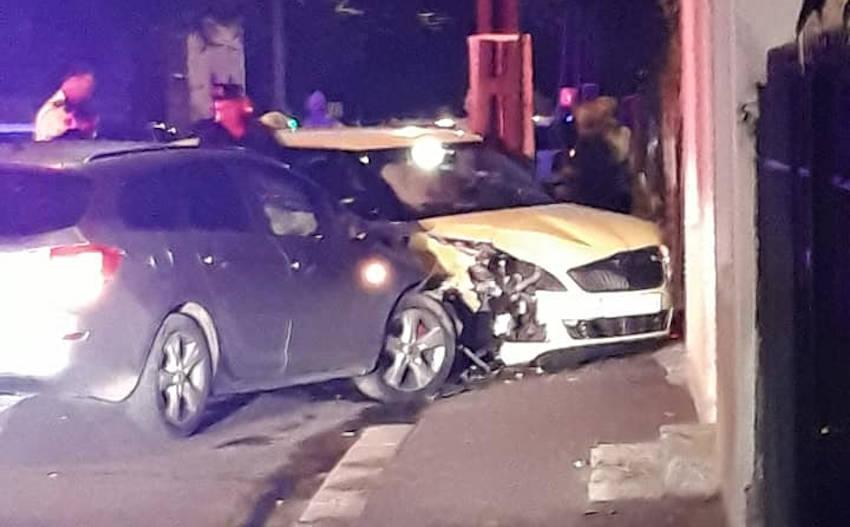 Două victime în urma unui accident rutier, pe strada Martir Cloșca