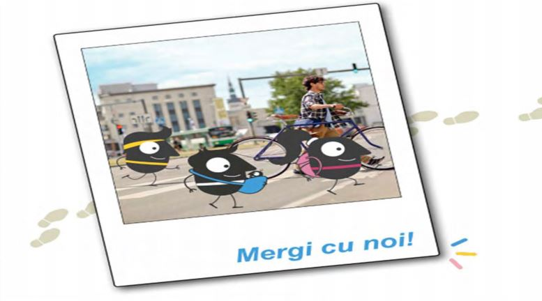 """""""Mersul pe jos și cu bicicleta în condiții de siguranță rutieră"""", tema Săptămânii Europene a Mobilității"""