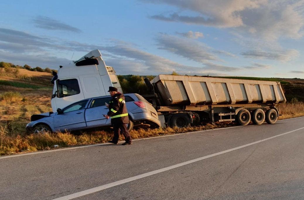 Accident rutier cu două victime la Poienari