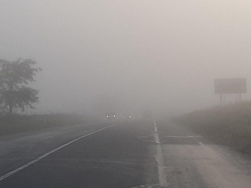 Recomandări pentru circulația pe timp de ceață