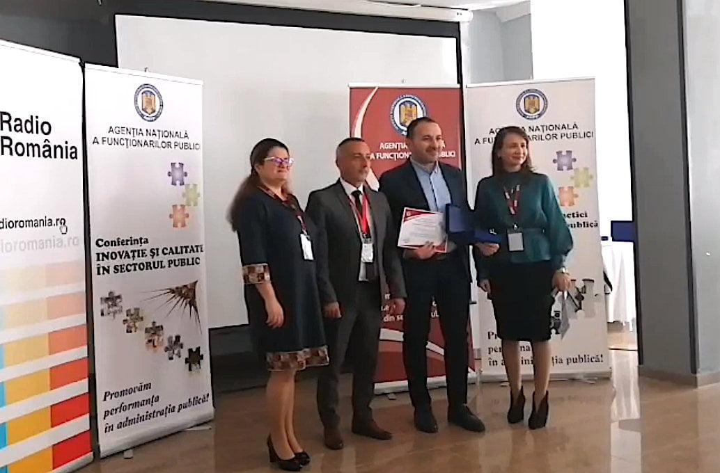 Municipiul Roman, premiat de Agenţia Naţională a Funcţionarilor Publici