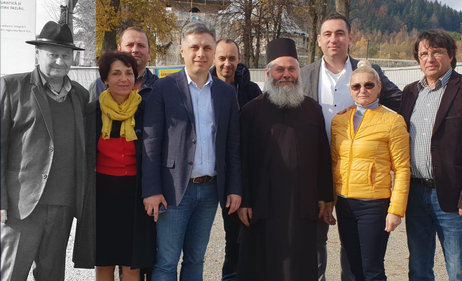 """Echipa PNL Neamț: """"Dumnezeu să îl odihnească în pace pe Constantin Machidon"""""""