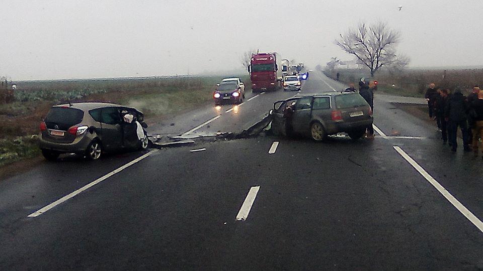 Accident cu trei persoane decedate pe E85, lângă Săbăoani