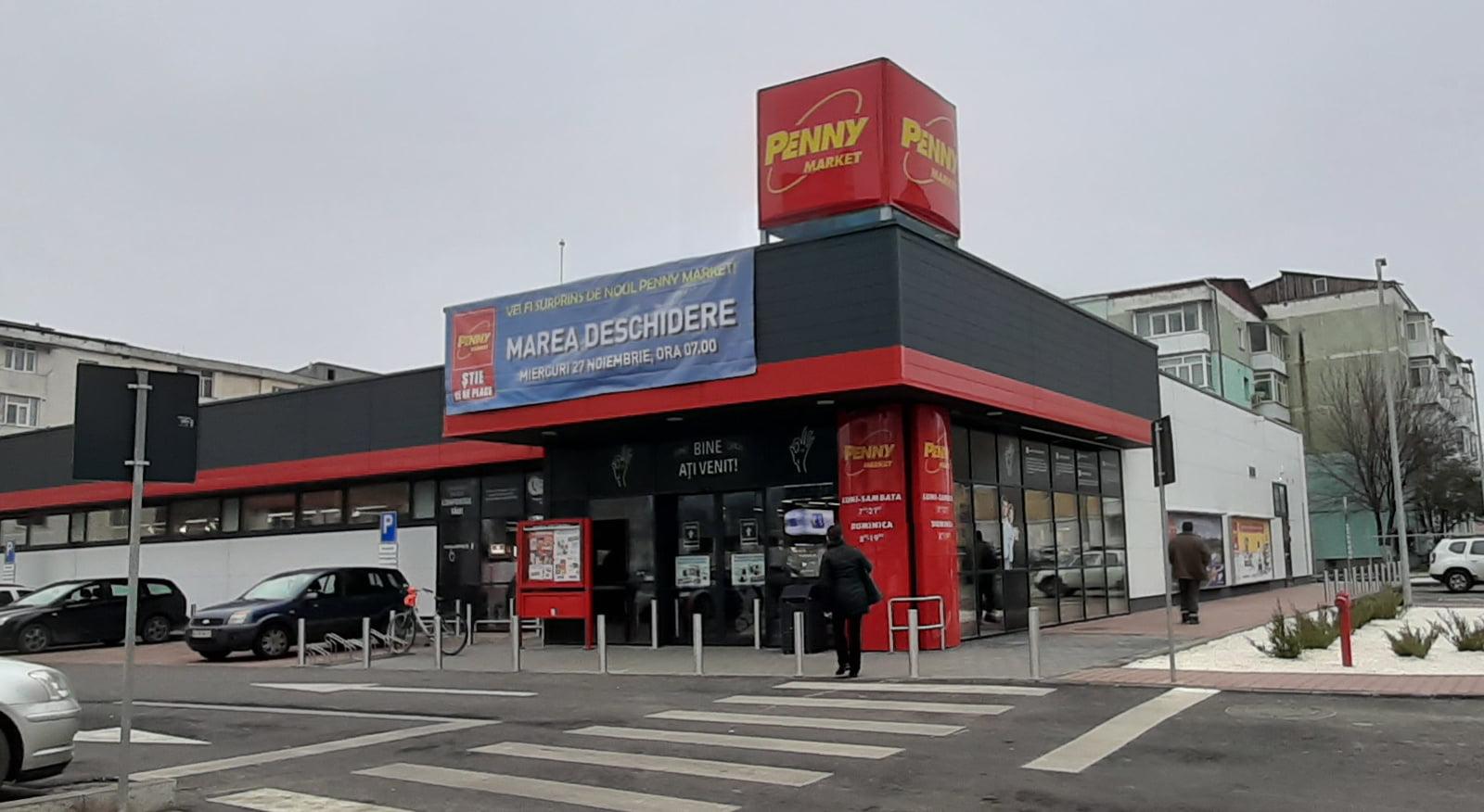 Penny Market a deschis al doilea magazin în Roman