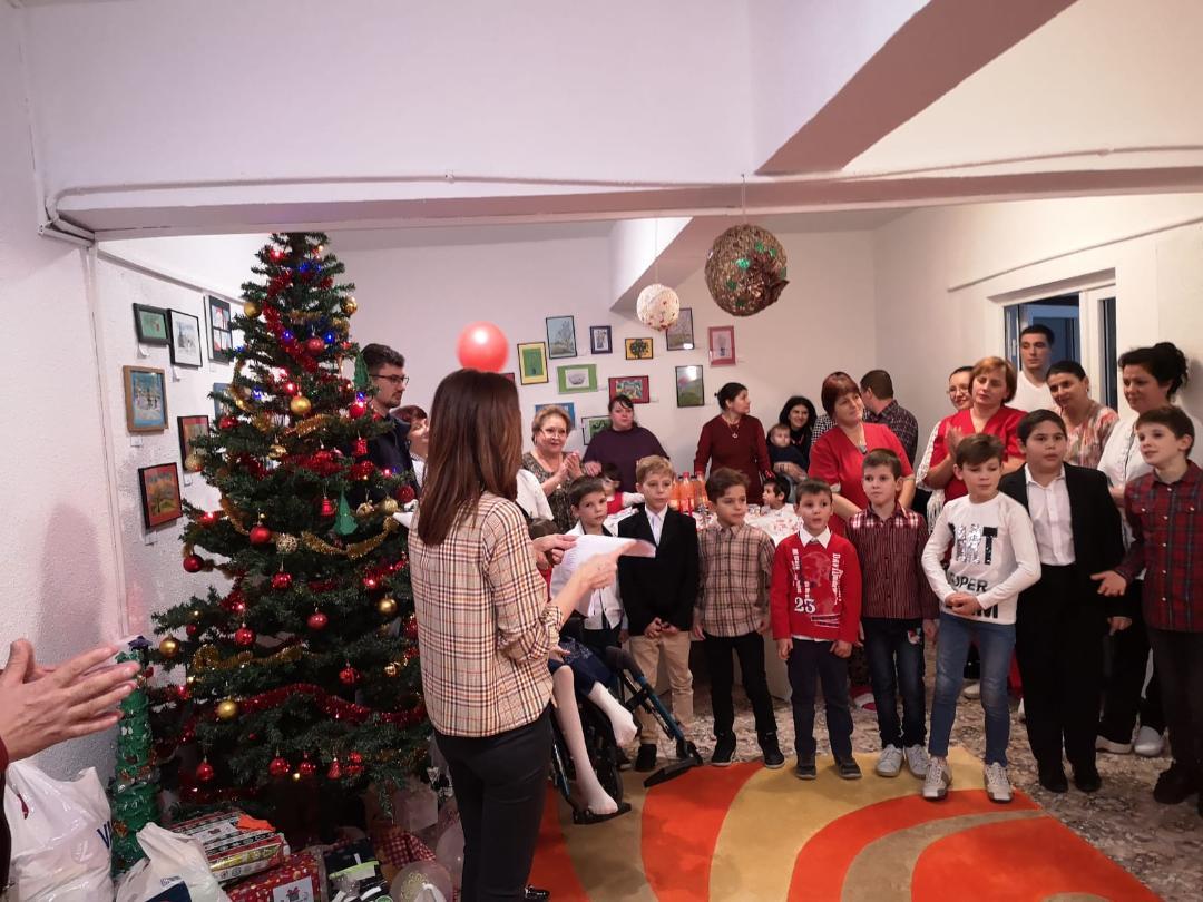 Crăciun de poveste în centrele DGASPC Neamț