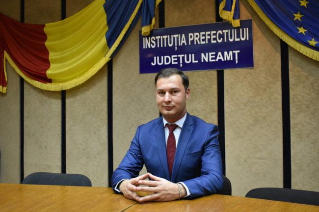 George Lazăr, prefectul județului Neamț (Foto: Gabi Apetrii)