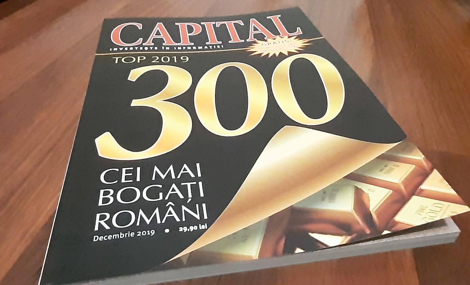 Top 300 Capital: cum au evoluat averile nemțenilor în ediția din 2019 a topului bogăției
