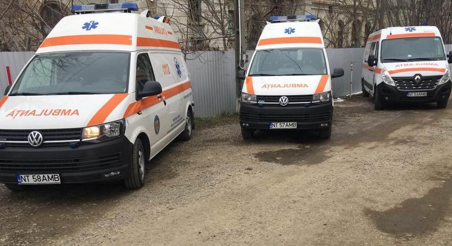 Trei ambulanțe noi pentru Stația de Ambulanță Roman
