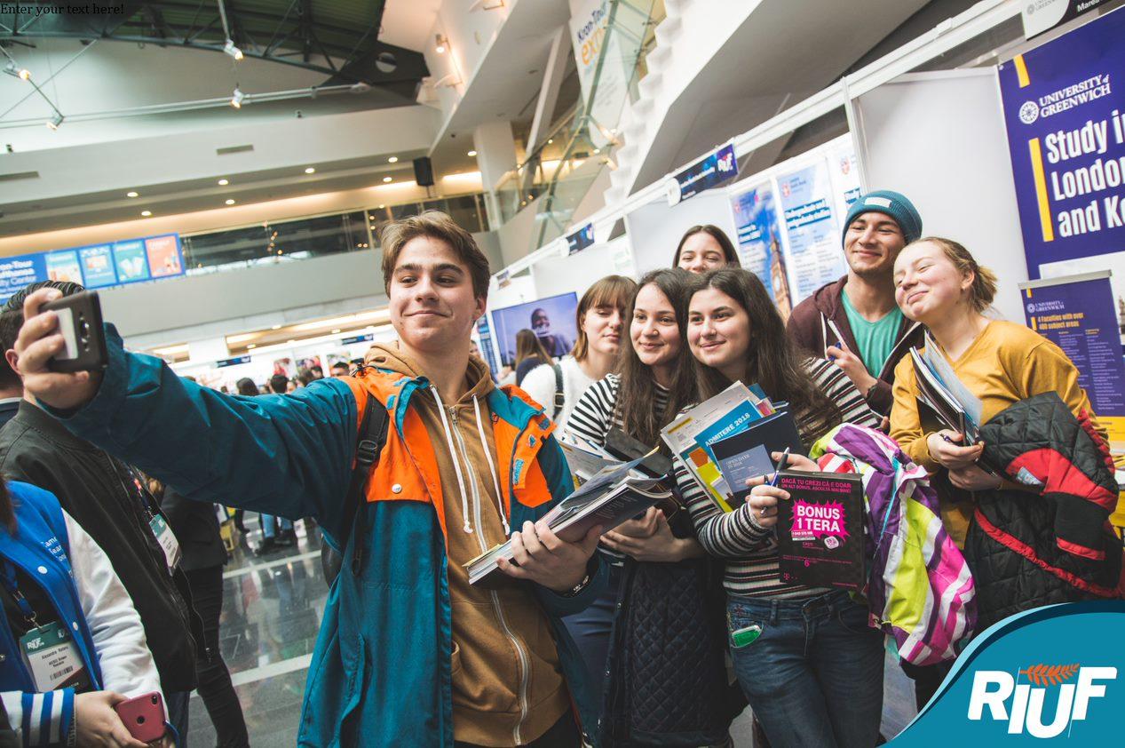 O nouă ediție a RIUF, târgul ofertelor universitare din străinătate, în luna martie la Iași