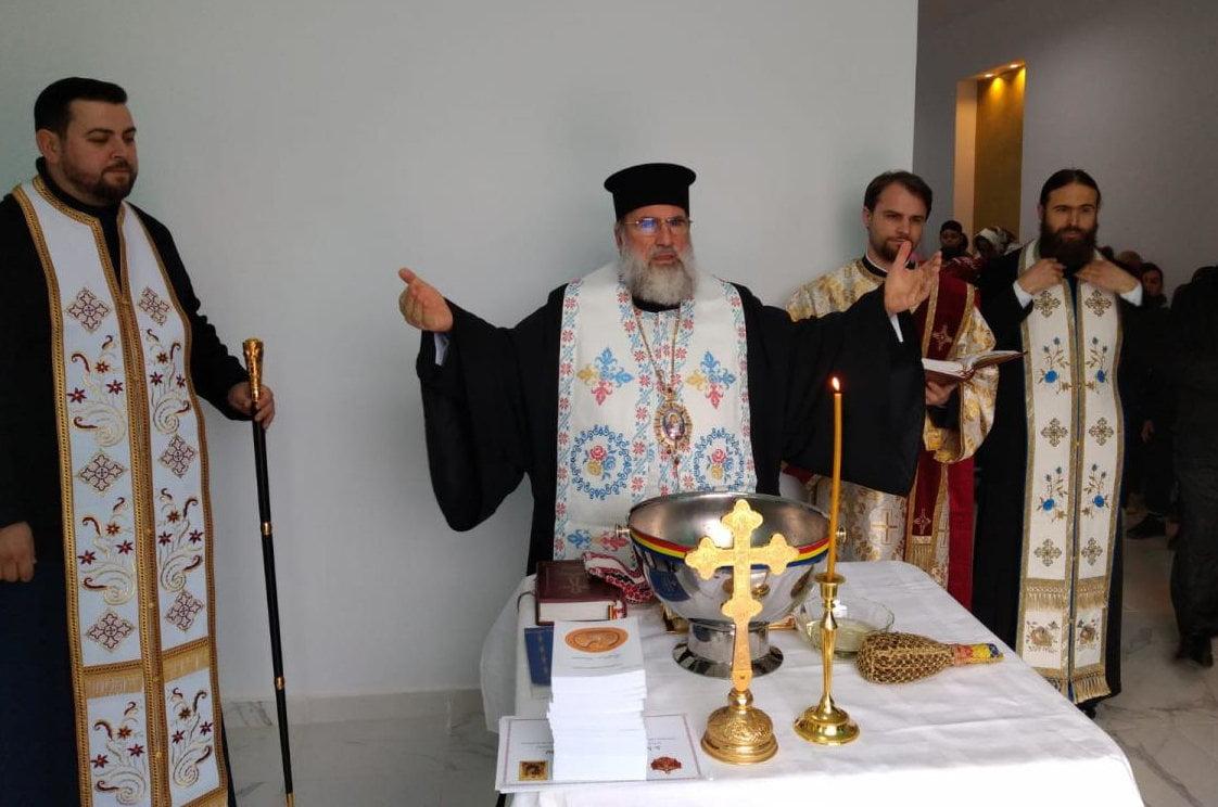 IPS Ioachim a sfințit sediul destinat tratării alcoolicilor anonimi la Roman