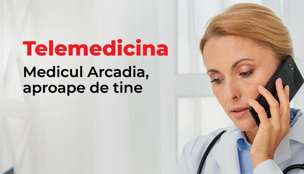ArcadiaLine – serviciul de telemedicină Arcadia