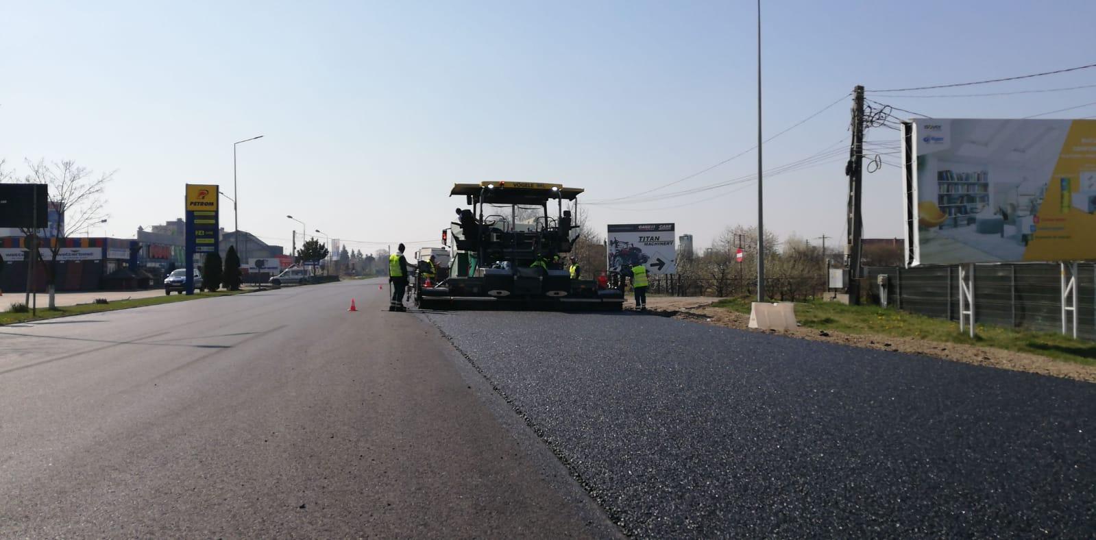 Precizări ale DRDP Iași privind reparațiile asfaltice executate pe E 85, în zona municipiului Roman