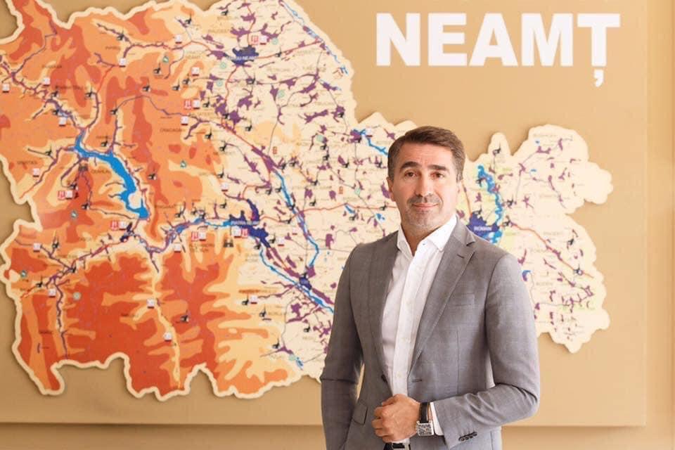 Ionel Arsene a câștigat un nou mandat de președinte al Consiliului Județean Neamț