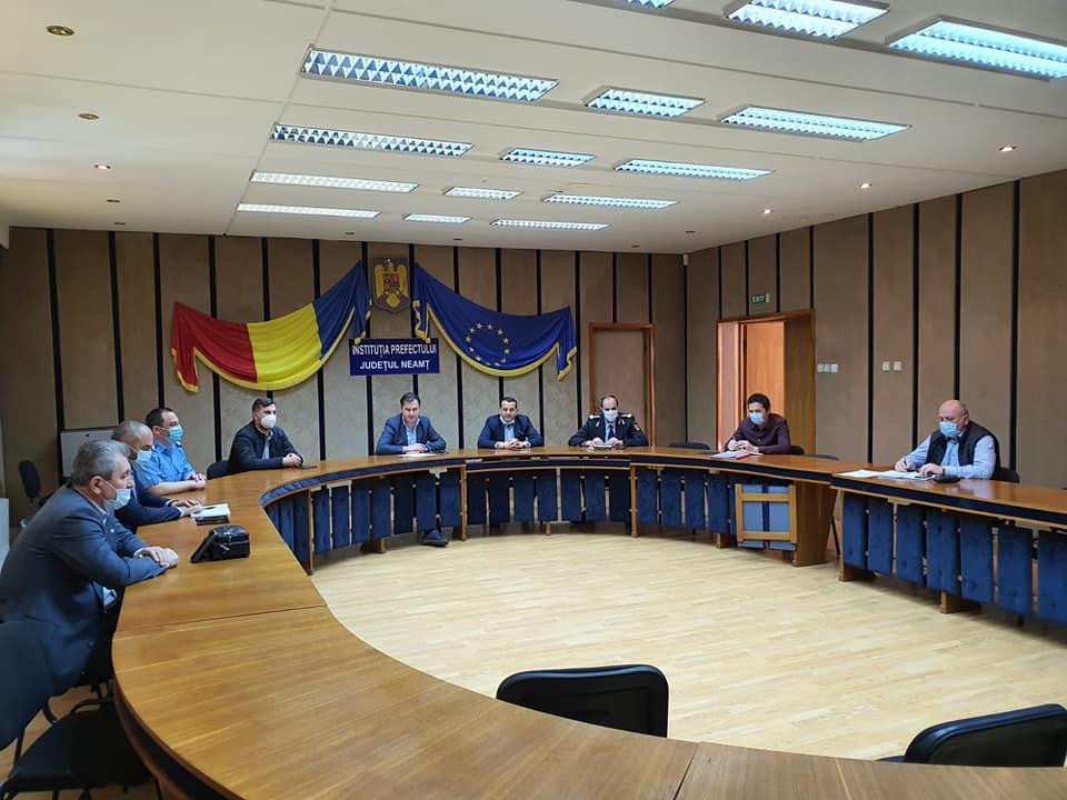 Noi măsuri după încetarea stării de urgență, stabilite de CJSU Neamț
