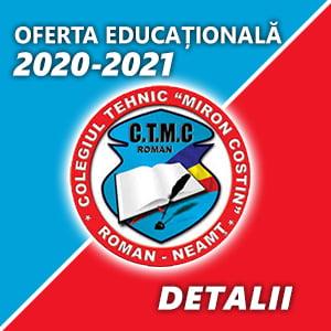 Ofertă CTMC Roman 2020-2021