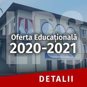 Ofertă LPS Roman 2020-2021