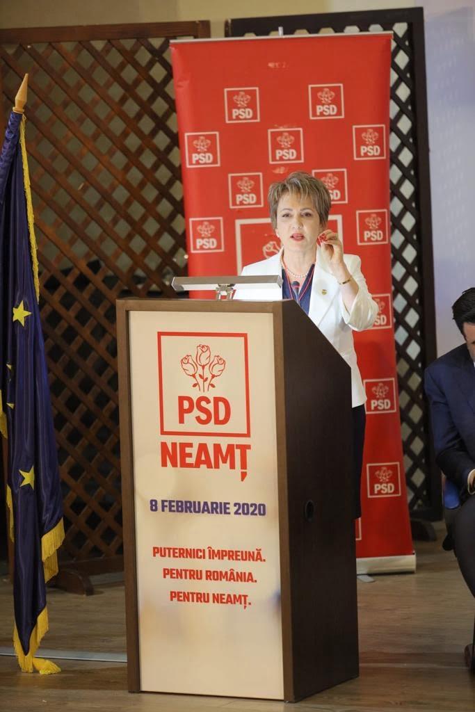 Senatorul PSD de Neamț – Emilia Arcan a demisionat din PSD
