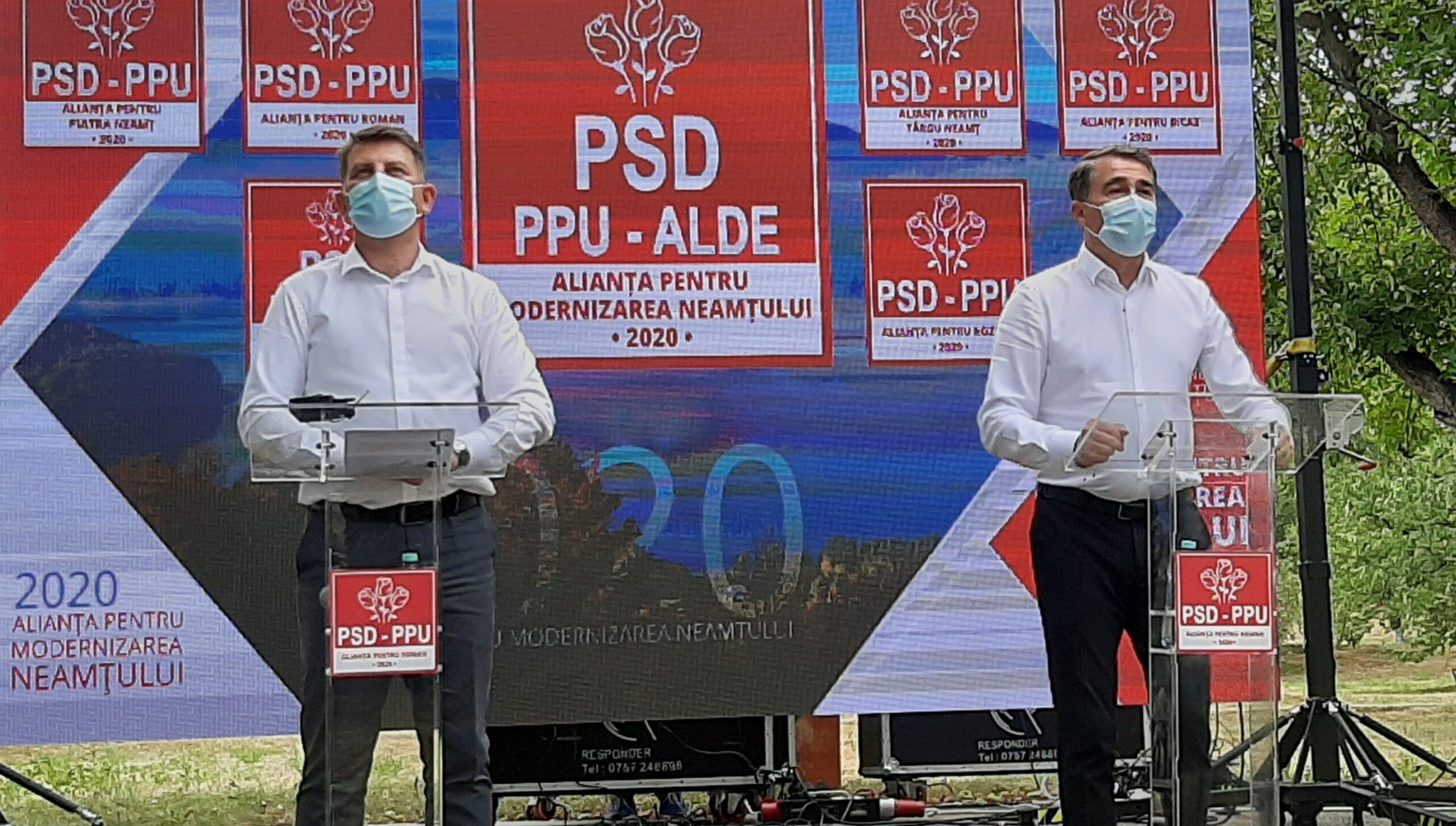 Lucian Micu și-a lansat candidatura pentru un nou mandat de primar al Romanului