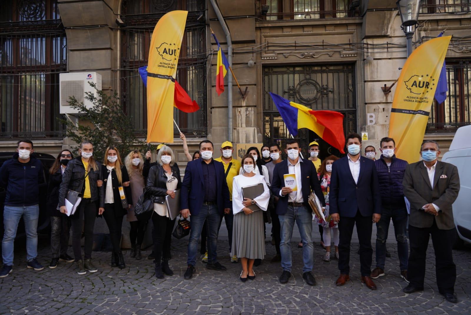 Candidații Alianței pentru Unirea Românilor la alegerile parlamentare