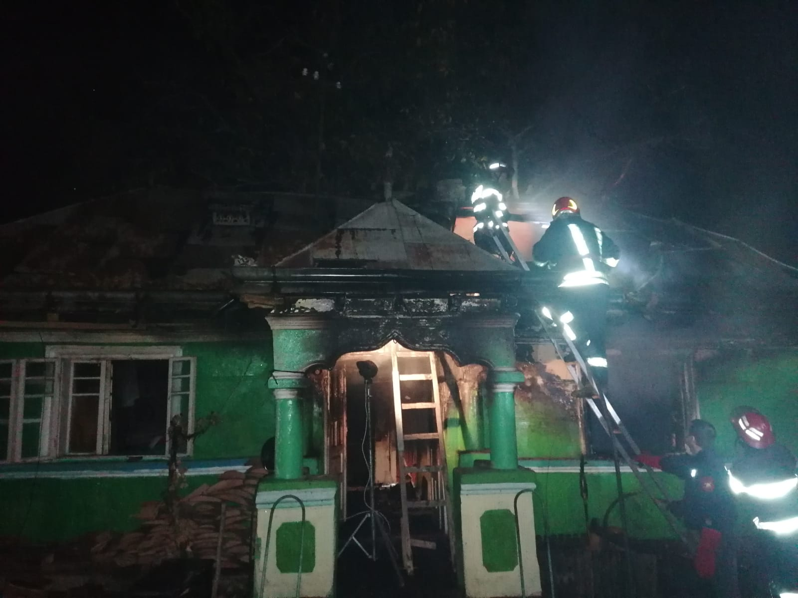 Bătrân decedat în urma unui incendiu, în comuna Ion Creangă