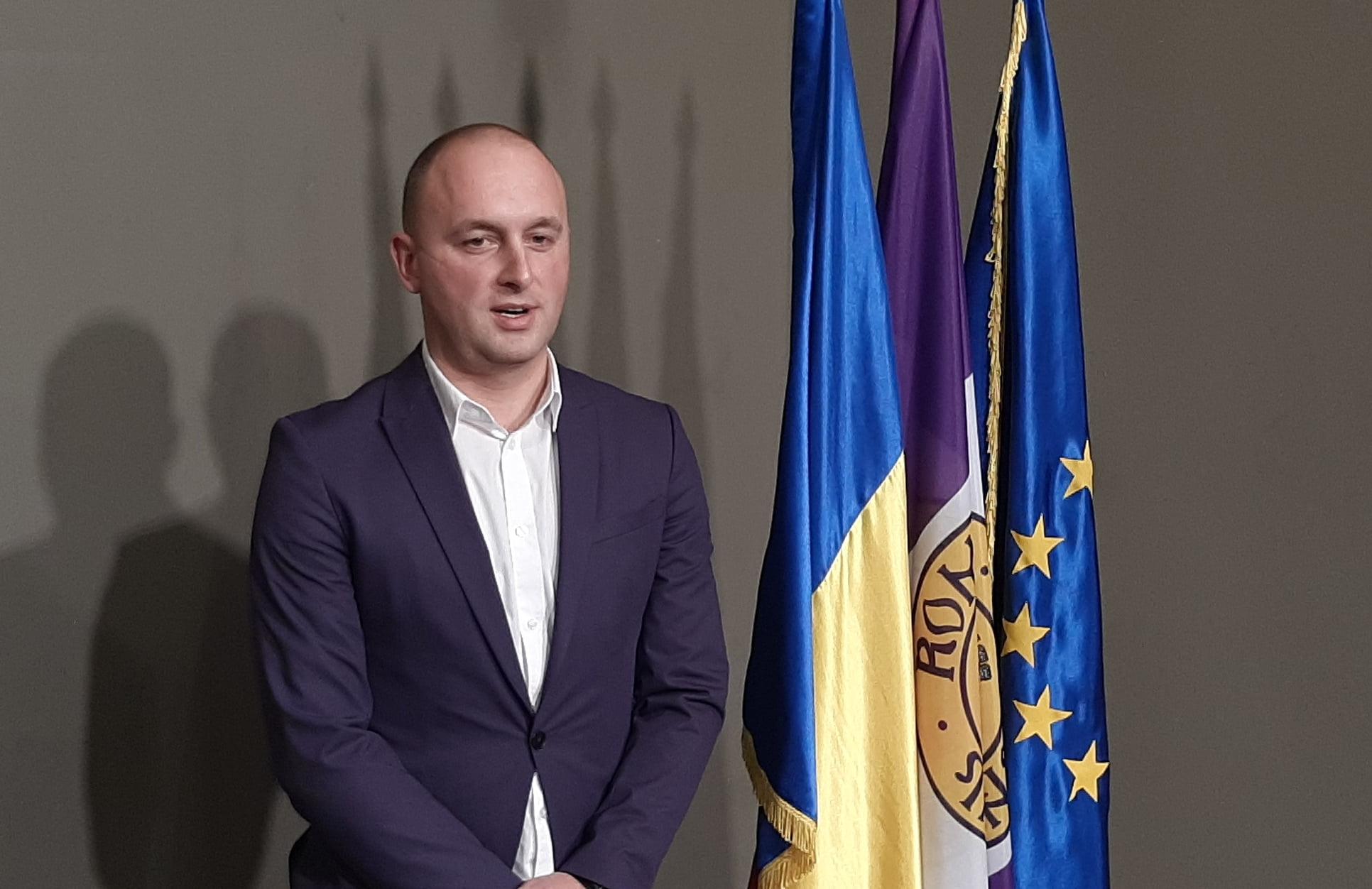 """Viceprimarul Radu Samson: """"Am dorit o funcție din care să pot să-mi asum responsabilități și răspundere"""""""
