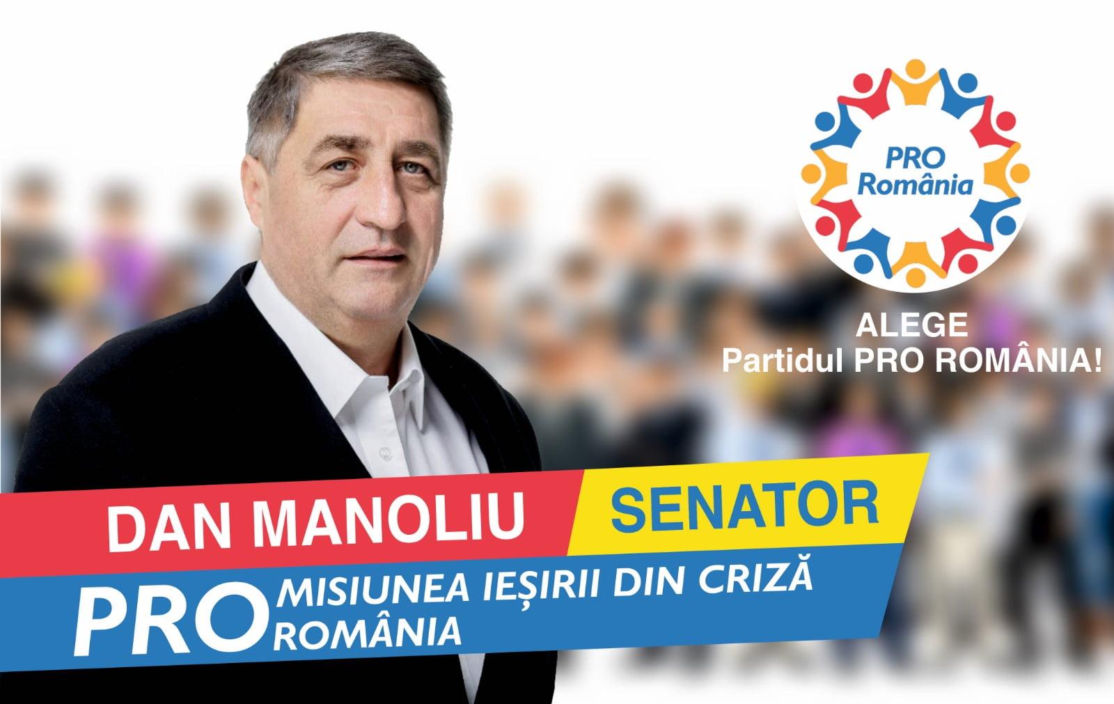 """Senatorul Dan Manoliu: """"Repunem micul producător în locul important pe care îl merită!"""""""