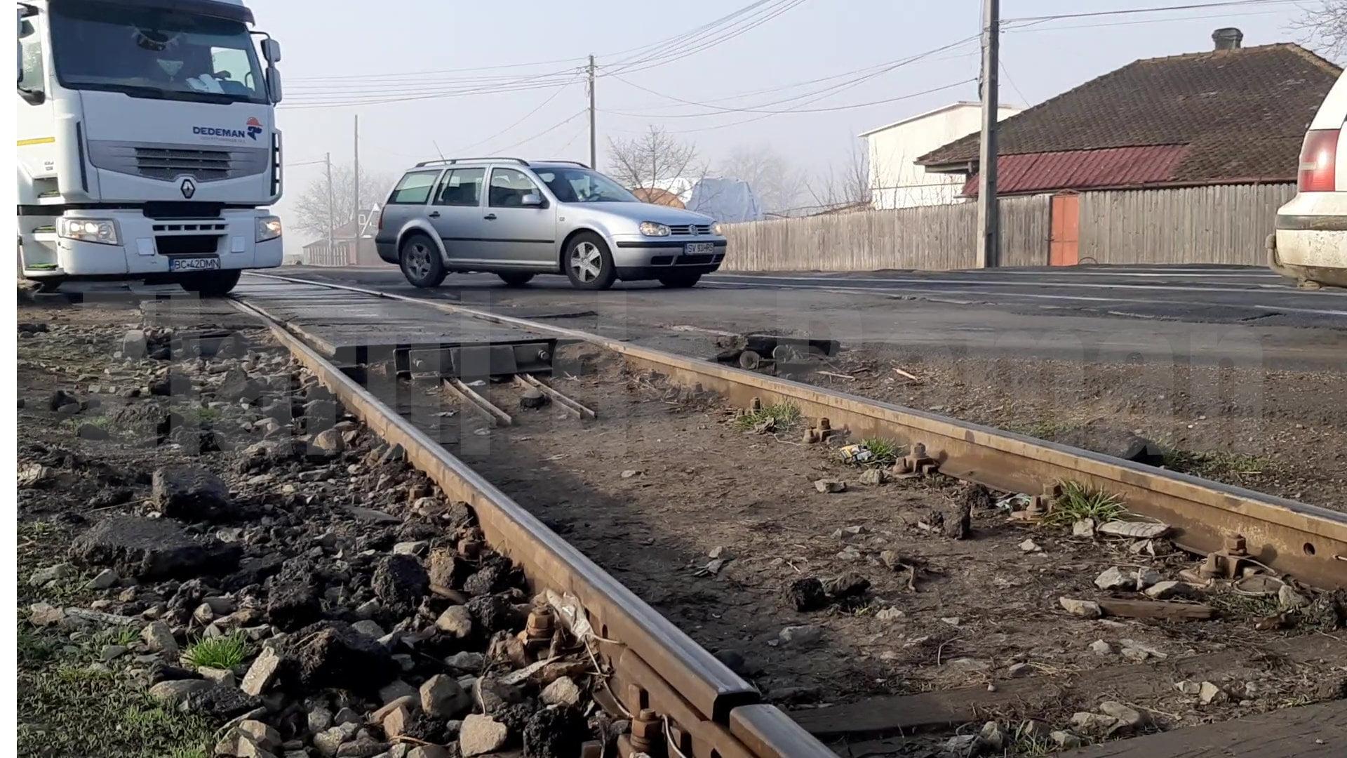 Refacerea trecerii la nivel cu calea ferată spre Iași, în a doua parte a acestui an