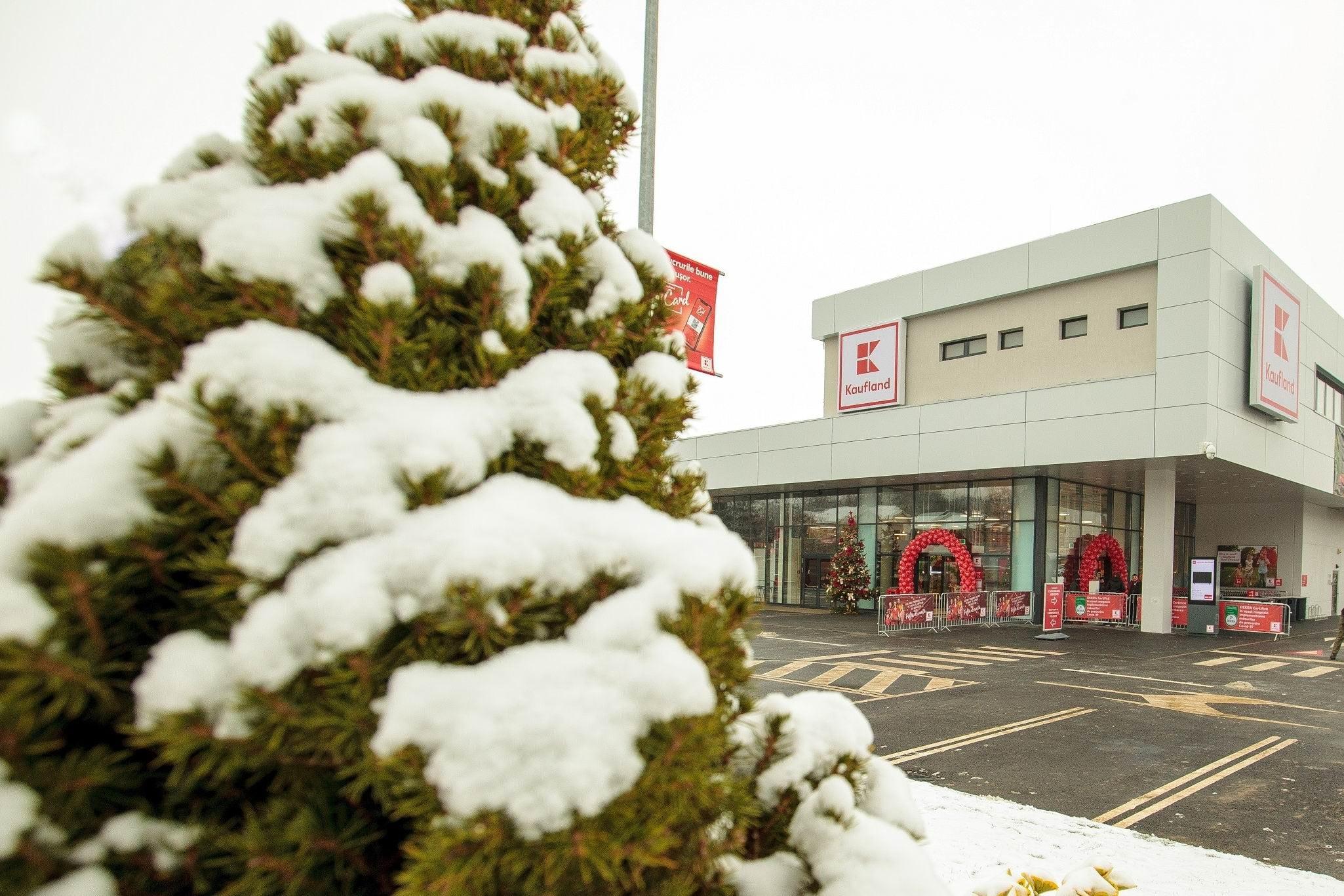 Kaufland deschide al doilea hypermarket din Roman și creează 80 de noi locuri de muncă