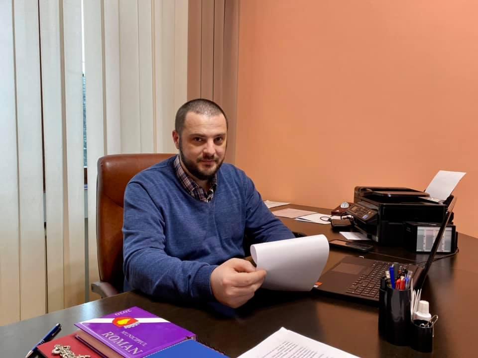 Aldo Pellegrini, noul city manager al municipiului Roman