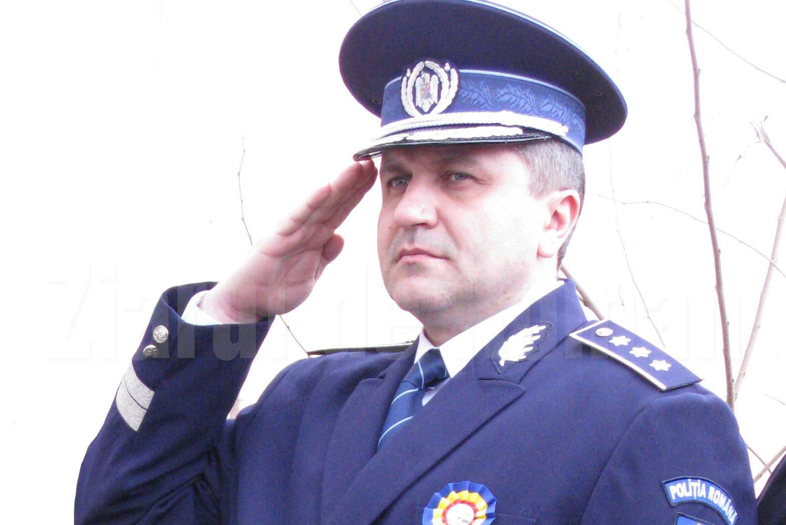 Comisarul șef Dragoș Bălău, numit la conducerea IPJ Bacău