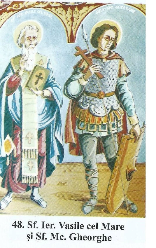 Pictură din biserica de la Botești