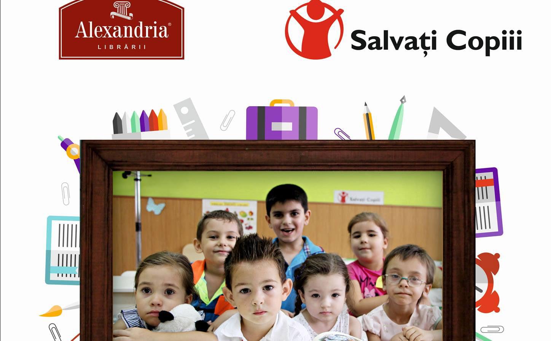 """Campania """"Cumperi tu, primesc și ei!"""": prima tranșă de rechizite a ajuns la Salvați copiii România"""