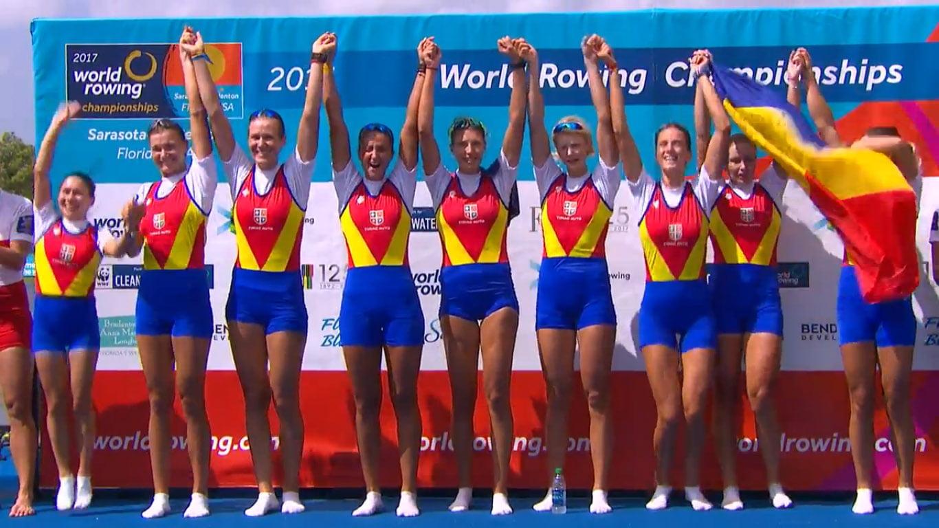 [VIDEO] Canotoarea Laura Oprea, din Nisiporești, aduce medalia de aur României la Campionatele Mondiale, după 18 ani!
