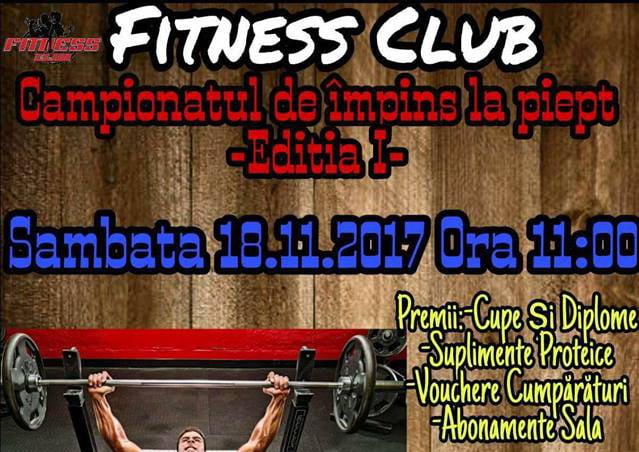 """""""Cupa Romașcană"""" la fitness"""