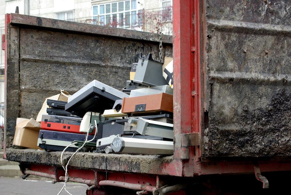 Romașcanii au renunțat la șase tone de deșeuri electrice și electronice