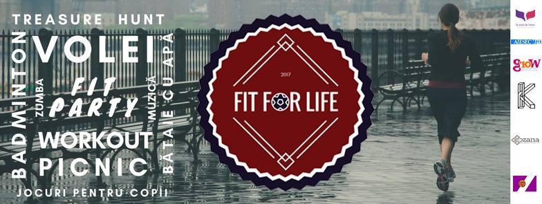 """""""Fit for Life"""", un festival în aer liber pentru tineri"""
