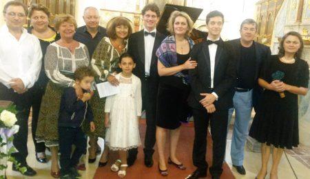 Întâlnire la Krems cu Camelia și Iulian Trofin și trei pianiști talentați