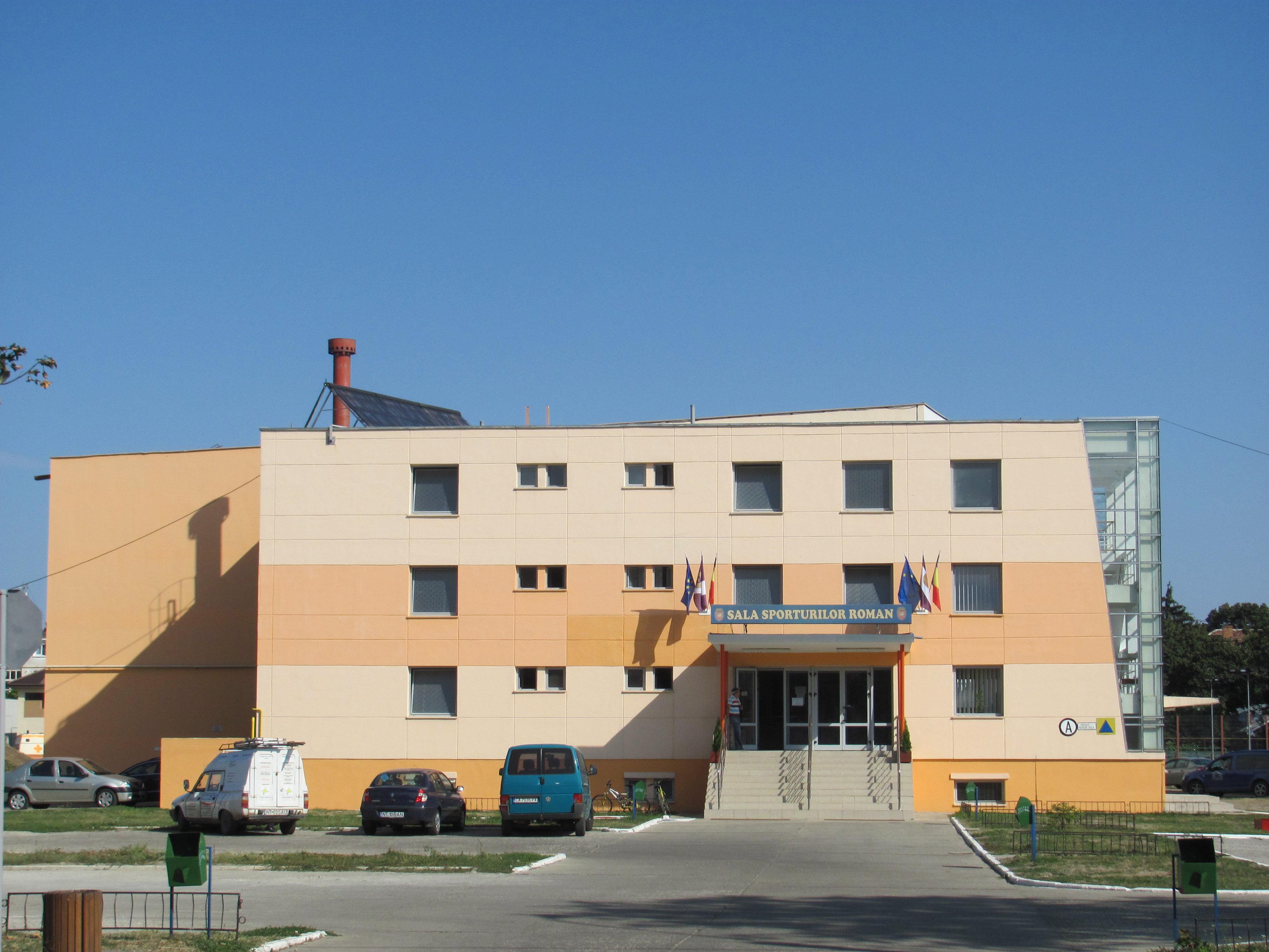 Proiect de construire a unei noi săli polivalente în municipiul Roman