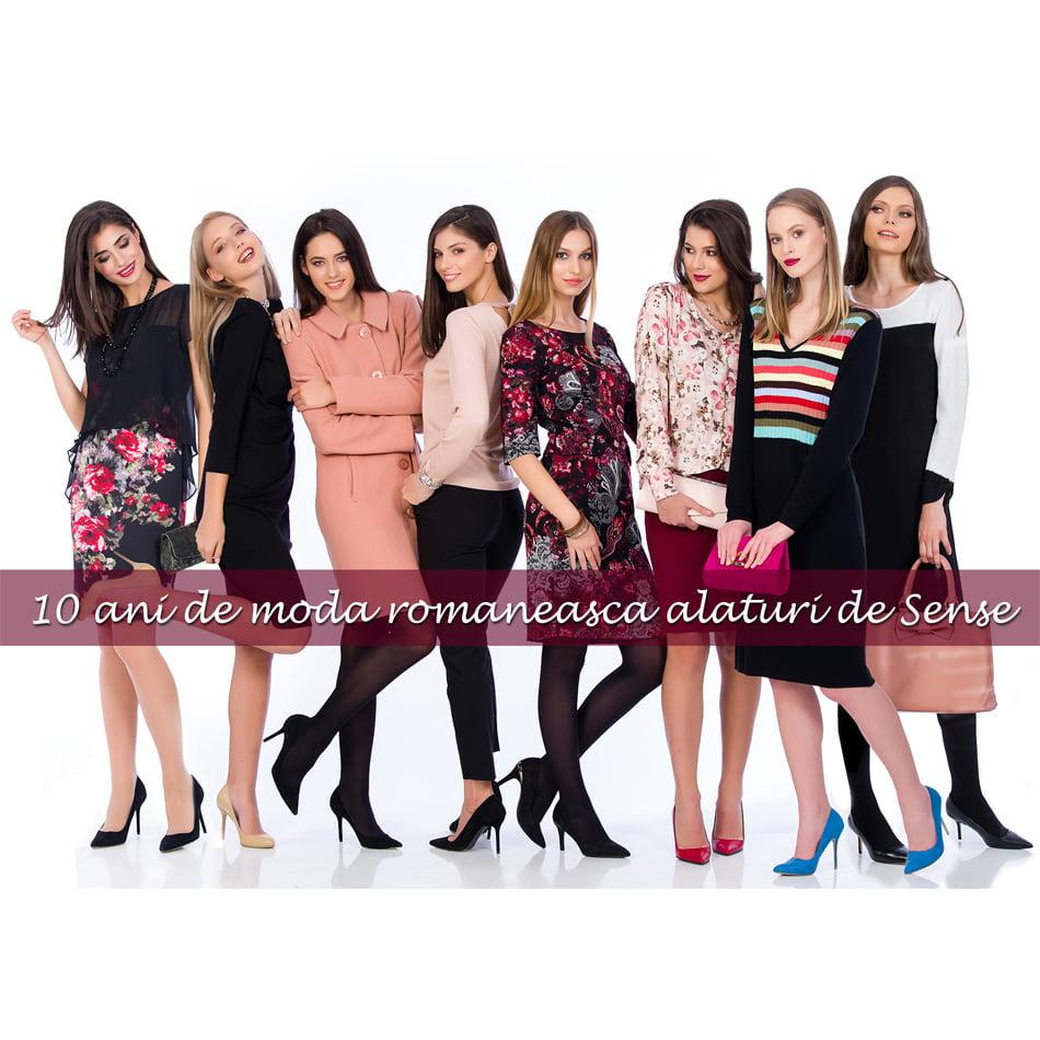 """Brandul Sense lansează campania aniversară """"10 ani de modă românească"""""""